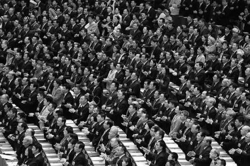 中共全国人大会议现场。(网络图片)