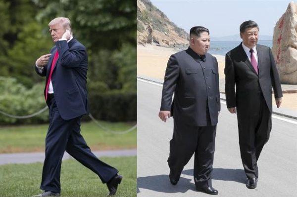 种种迹象显示,中、美、朝似乎已在朝核问题上达成了一定程度的共识。(AP)
