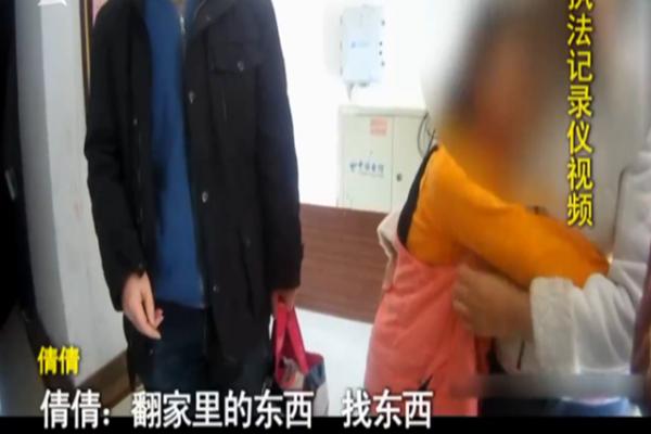 """苏州9岁女童因父母生二胎心中不满划伤胳膊""""报假警""""引关注 视频截图"""