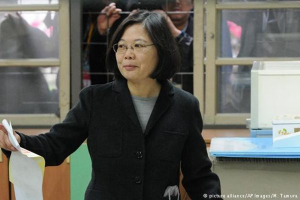 台湾总统蔡英文(AP)