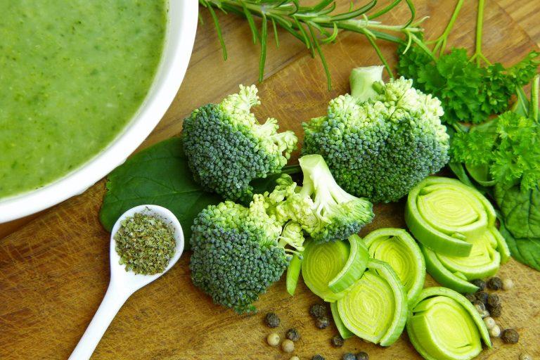 护肝绿花椰浓汤(图片来源:pixabay)