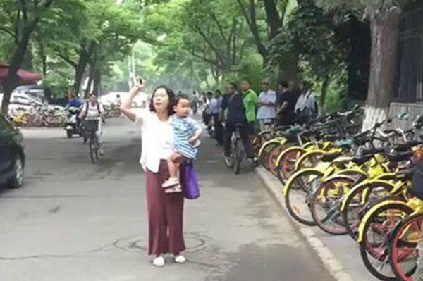 709律师谢燕益原姗姗抗议中共公检法违法迫害谢燕益律师