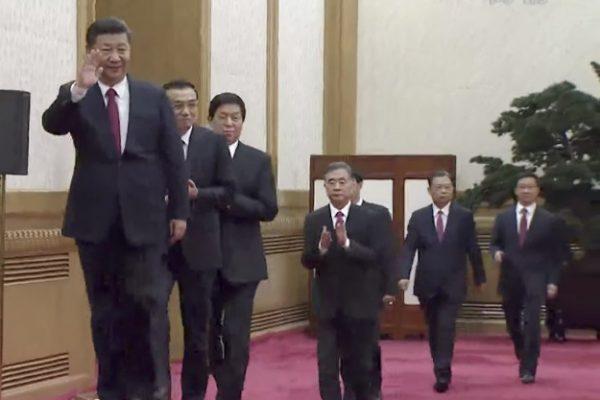 中共现任七常委之妻情况曝光 王沪宁最荒唐