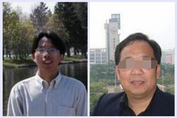罗交晚(左)与谢冬青(右)。(网络图片)