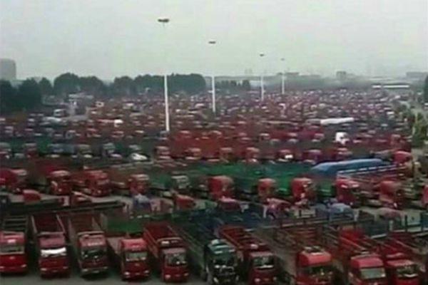 全国60%卡车司机罢工