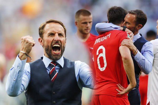 英国队告别世界杯 主帅妻子的拥抱被称为世界杯最美的画面 气度与担当让人记住这支世界杯最年轻的球队