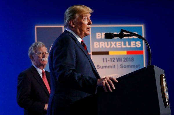 美国总统川普(AP Photo/Pablo Martinez Monsivais)