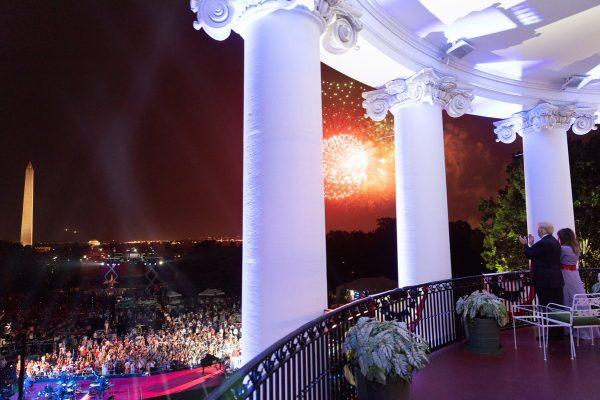 美国国庆暨独立日庆祝和烟花秀图片精选