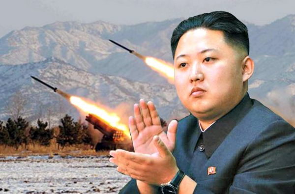 """金正恩被川普戏称""""火箭人"""""""