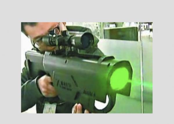 据报道,中国一家公司研制出一款雷射步枪。(网络图片)