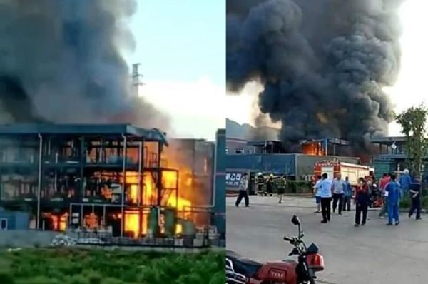 四川江安县恒达科技公司爆炸9死12伤