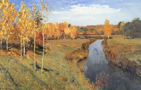 金色的秋天。(图片:wikimedia commons)