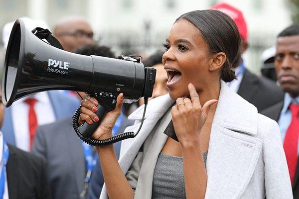 美国青年领袖坎迪斯?欧文斯(Candace Owens)是黑人退出民主党运动Blexit的创始人。(Christopher Howard/FOXNews)