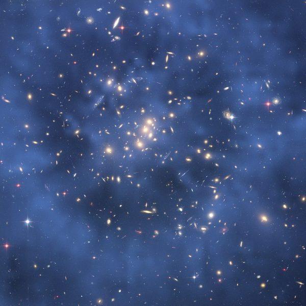 宇宙中很可能大量存在着一些不可见的物质(图片:Wikimedia Commons)