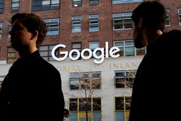 谷歌Google(图片来源:AP美联社)