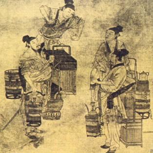 古人玩什么:斗茶。(图片:维基百科)