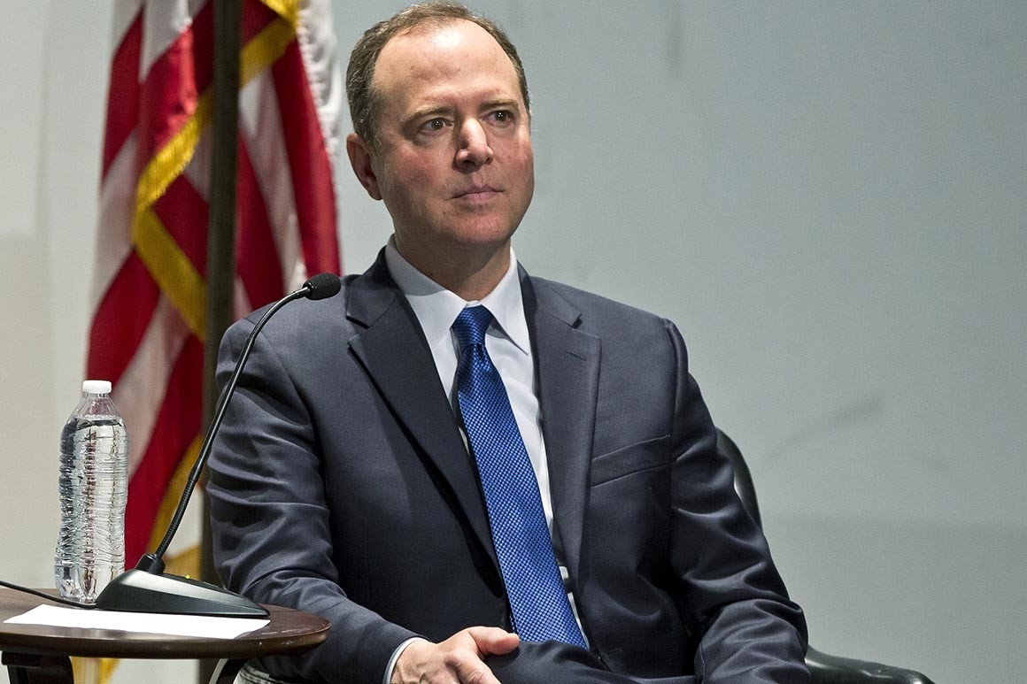 "Rep. Adam Schiff said he's ""exhausted by the private misgivings"" among Republicans. 