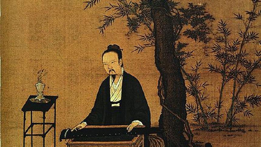 文昭:古琴的故事-酒狂阮籍竟是推不掉的官运亨通!