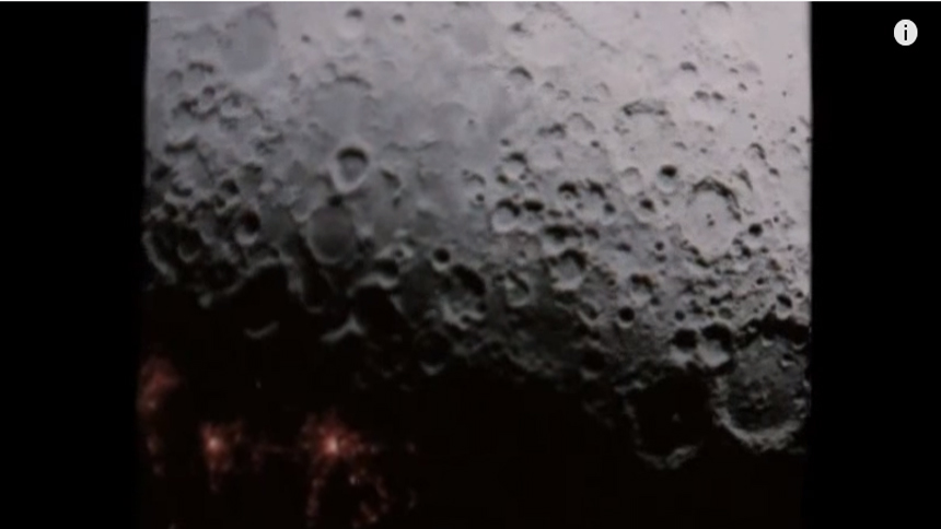 NASA绝密视频流出:月球背面有城市?