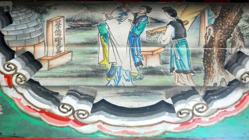 文昭-古琴的故事:蔡氏五弄与文姬归汉