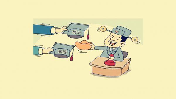 中国博士官员(网络图片)