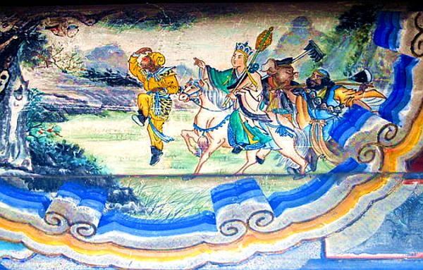 《西游记》注重五行之说,唐僧一行人就全了这五行之数。(图片:Wikimedia Commons)