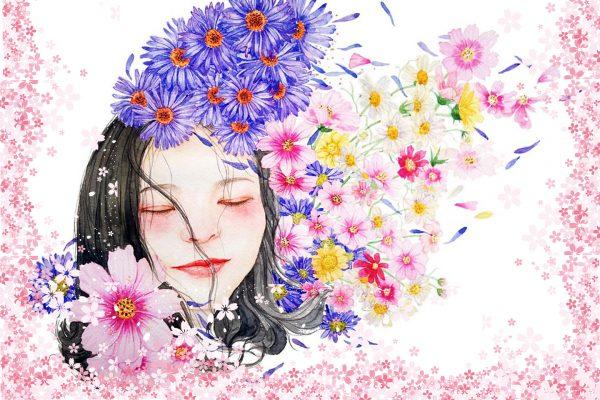 于简单处书写生命的绽放,开出最美的花朵!