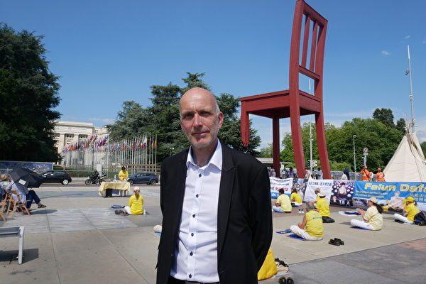 瑞士大议会议员、人权委员会成员马克·法勒凯(Marc Falquet)先生