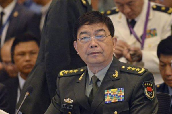 前中共国防部长常万全(AP)
