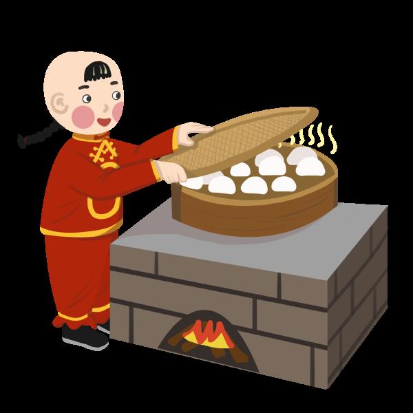 小柴灶 (授权图片)