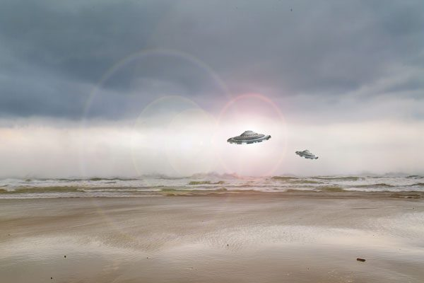 UFO( Ovni/Pxhere, CC BY 2.0)