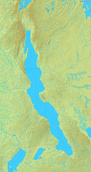坦干依喀湖地图(图片:维基百科)
