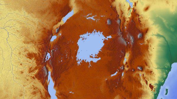 非洲第一大湖维多利亚湖看起来恰恰像松果体的形状(图片:pixabag)
