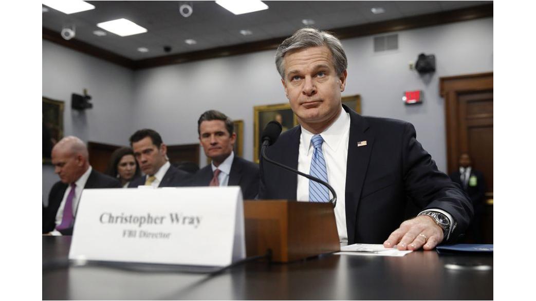 FBI局長就誤導法院監視川普前競選顧問表達「深切後悔」