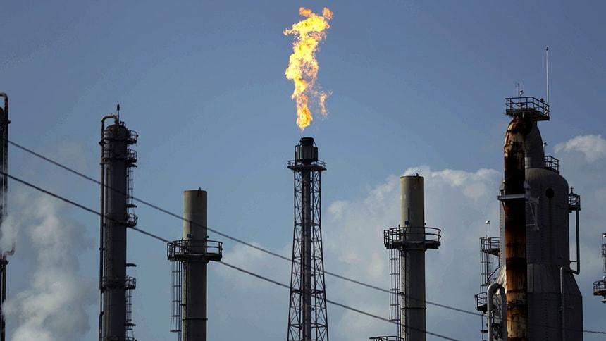 石油,原油,美联社图片。