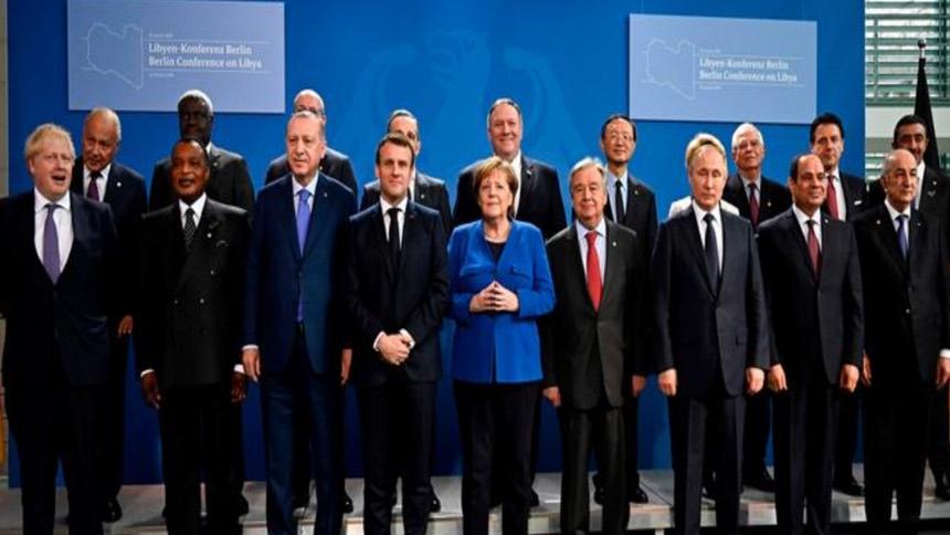 柏林峰会落幕  多国承诺尊重武器禁运促利比亚和平