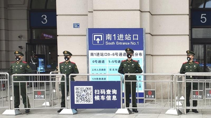 港媒:武漢肺炎攻入中共空軍后 武警也淪陷