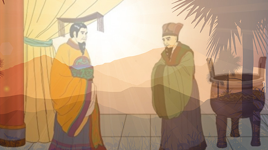 视察民情做做样子?  古代君王与民同甘共苦感动上苍