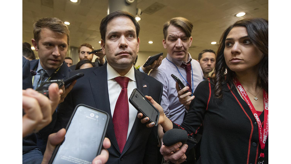 Sen Marco Rubio -2020 Jan 28 in Washington (AP / Manuel Balce Ceneta)