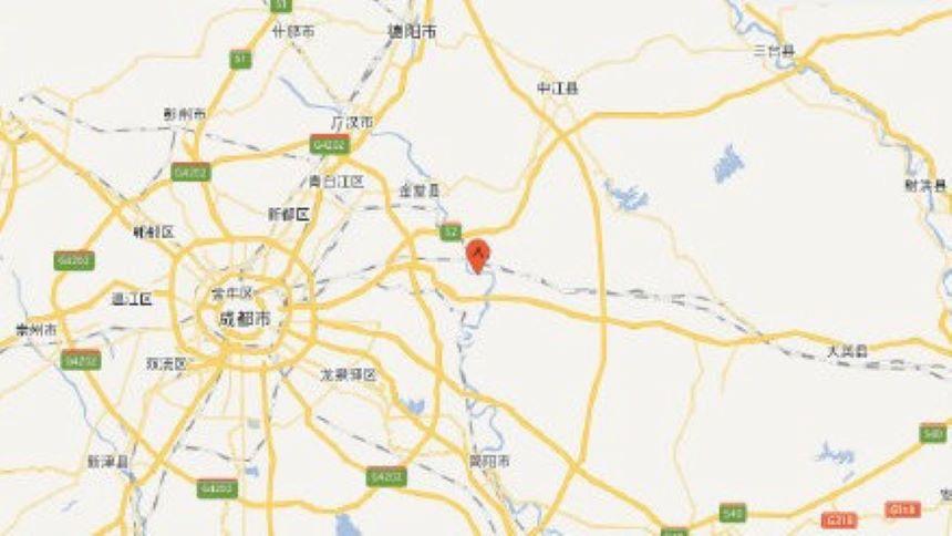 成都市青白江區3日凌晨發生5.1級地震(中國地震台)