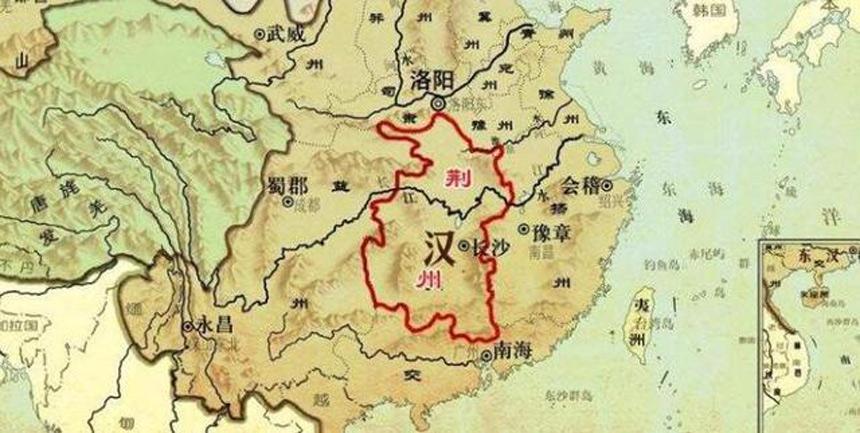 三国时期的荆州(网络图片)