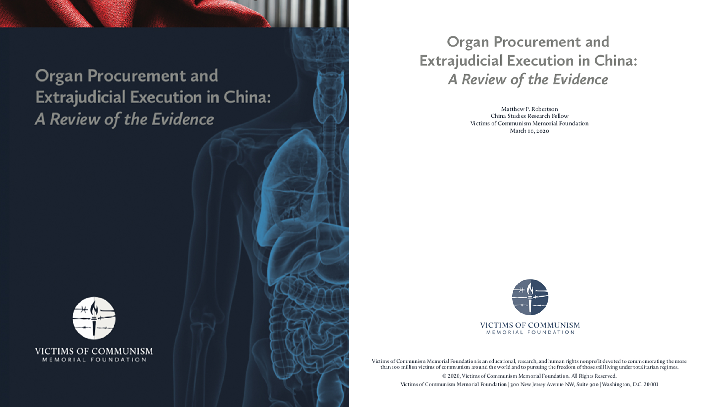 VOC-Report-Organ Procurement and Extrajudicial Execution in China