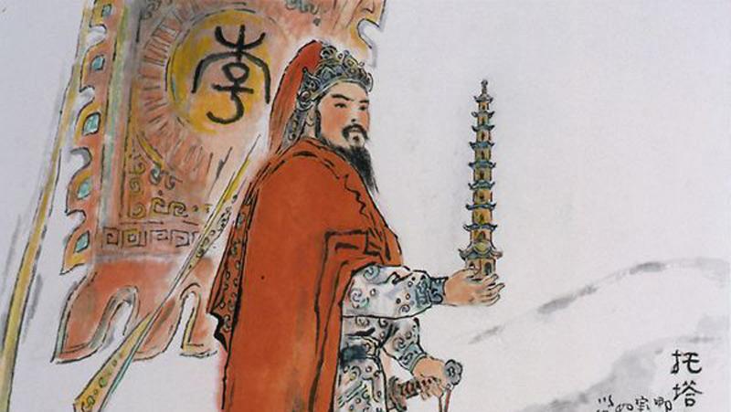托塔李天王(网络图片)