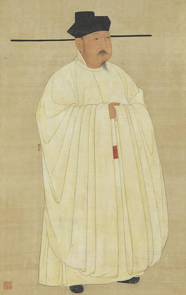 宋太宗赵炅(赵匡义、赵光义)肖像(图片:国立故宫博物院藏)