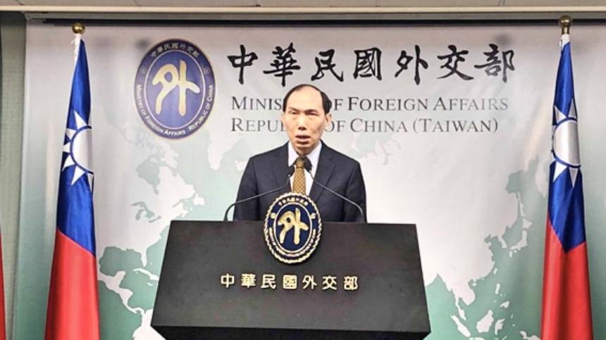 台湾外交部亚西及非洲司司长杨心怡
