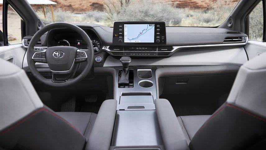 全新混动 Minivan: 2021 Toyota Sienna (Toyota)