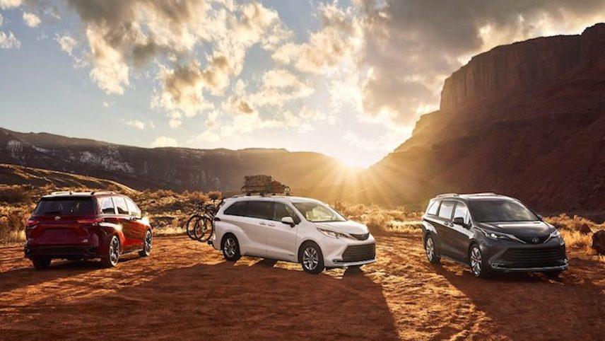 全新混动 Minivan: 2021 Toyota Sienna (Toyota