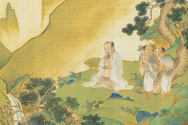 神农氏(图片:明·仇英《帝王道统万年图》)