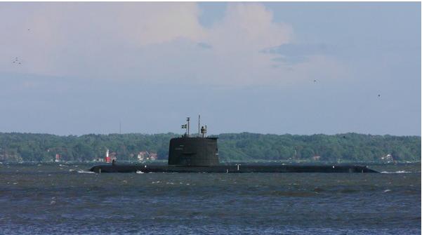潜艇示意图