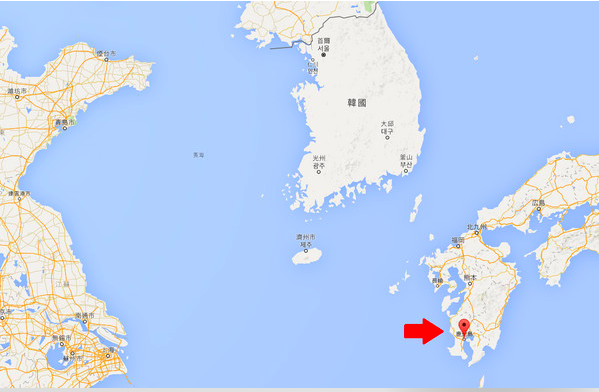 日本鹿儿岛地理位置